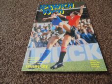 Ipswich Town v Leicester City, 1980/81